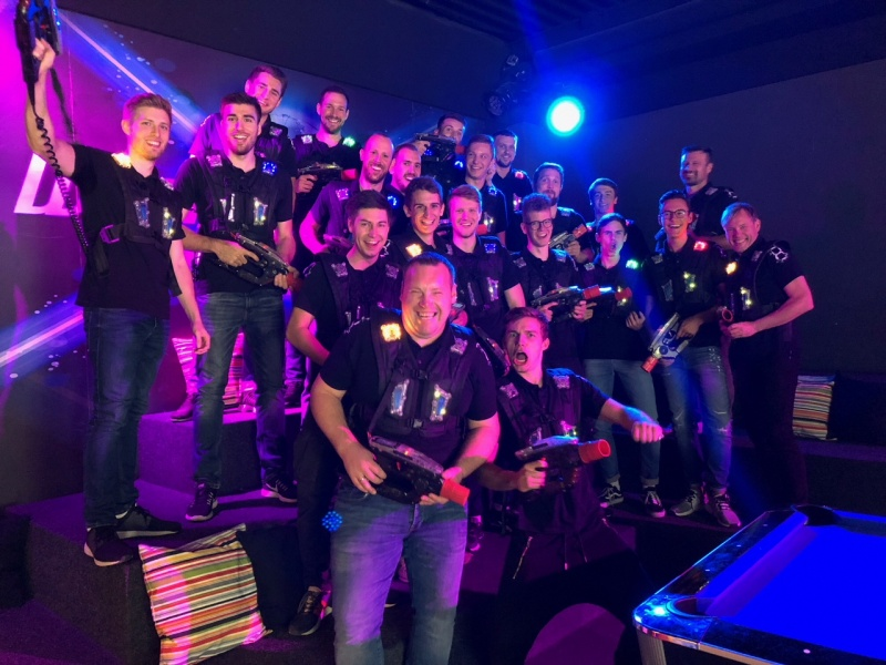 TGO Herren-1 in der World of Lasertag in Frankenthal